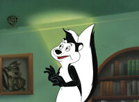 WB-Looney Tunes Pepe Le Pew Original Production Cel