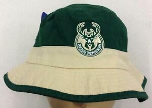 NBA Milwaukee Bucks Adidas Adult Bucket Safari Flex Fit Cap Hat NEW!