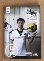 Fulham v Everton Premier league 2013/2014 Programme Mint Condition