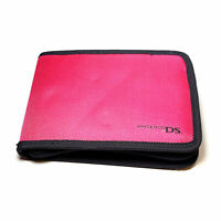 PowerA Nintendo DS Travel Carrying Case Nylon Pink for System Games Accessories