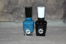 SALLY HANSEN Miracle Gel Twin Packs 101 TOP COAT & 220 TEAL TWIN UP TO 14 DAYS