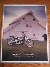 2001 Harley Davidson Prestige Brochure, Full Line, HUGE 54 pgs Electra Glide