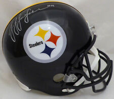 JUJU SMITH-SCHUSTER AUTOGRAPHED SIGNED STEELERS FULL SIZE HELMET BECKETT 130732