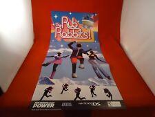 Rub Rabbit / Sonic Riders Nintendo Gamecube Nintendo Power Foldable Promo Poster