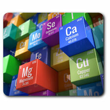 Computer Mouse Mat - 3D Periodic Table Chemistry Science Office Gift #13266