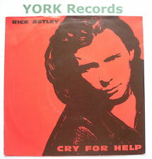 "RICK ASTLEY - Cry For Help - Excellent Condition 7"" Single RCA PB 44247"