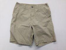 Pacific Trail  Men's Size 36 100% Cotton Button Closure Beige Walking Shorts