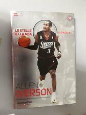 LIBRO BOOK N° 10 ALLEN IVERSON LE STELLE DELLA NBA AI RAGGI X SIXERS