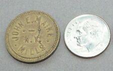 Good for 5 cents in trade John Maike New York Mills Minnesota MN trade token