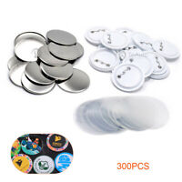 G Series 25mm Clutch Pin Button Badge Components 500 No 25mm Clutch Pin Comps
