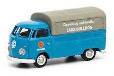 Schuco 26340 - 1/87 Volkswagen / Vw T1c Pritsche/Plane - Lanz Service (Blau) Neu