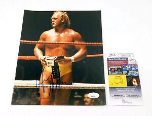 Hulk Hogan Signed 8 x 10 Color Photo Wrestling JSA Auto DA042054