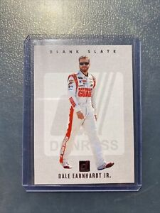 2021 Donruss Racing Nascar BLANK SLATE insert Card DALE EARNHARDT JR super rare