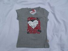 Girls O'NEILL Grey COTTON Short Sleeve T-Shirt size 140cm height New!