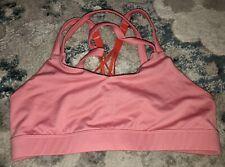 Champion Pink Strappy Sports Bra, Med