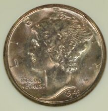 1943-S Mercury Dime NGC MS67- Nicely Toned, Hi-Grade Example
