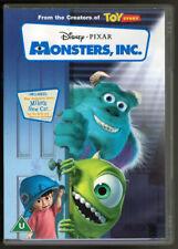 Monsters, inc. (DVD 2001) Rating U