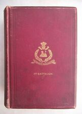 More details for rare original 1894 historical records of 2nd somerset regiment book by smythies