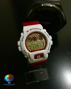 Casio G-SHOCK DW-6900SC (DW-6900) Limited Edition Ideal Condition Red White Star