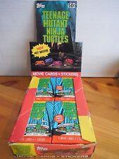1X WAX PACK TEENAGE MUTANT NINJA TURTLES 1990 Topps Lots Availabl Fresh From Box