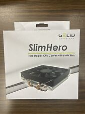 GELID SOLUTIONS SlimHero CPU Cooler (CC-Shero-01-A) Brand new in box