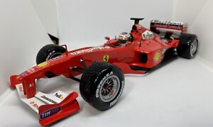 1/18 F1 Hotwheels Ferrari F12000 Michael Schumacher King Of Rain Marlboro