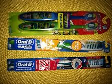 2 Colgate Kids Ninja Turtle, 2 Oral-B Deep Clean/Prohealth Toothbrush FAMILY LOT