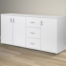 Kitchen White Sideboards with Doors