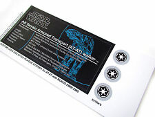 CUSTOMISED STICKERS for AT-AT ATAT DISPLAYS, Lego 8129 75054 ST12 , MODELS, ETC