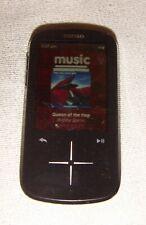 SanDisk Sansa Fuze+ Black (8 GB) Digital Media MP3 Player. Works great