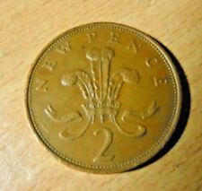 2p New Pence coin 1979 - (Two Pence pre 1983)