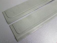 Mercedes SL SLC r107 Rubber Sill Covers. Grey.