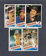 1985 Topps Traded Baseball Cleveland Indians TEAM SET