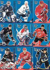 U PICK EM LOT 2000-01 00-01 McDonalds Pacific Prism Blue Parallel card set