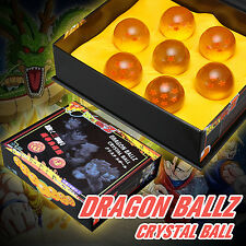4.2cm 7pcs Set Anime Dragon Ball Z Stars Crystal Balls Gift Collection With Box