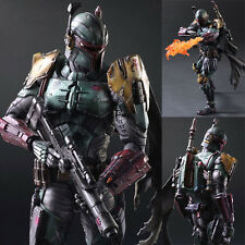 Play Arts Kai Star Wars Boba Fett Variant Action Figure Collectible Toys Statue