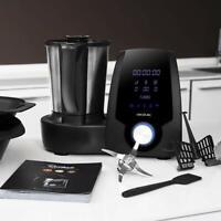 Cecotec Robot de Cocina Multifunción Mambo Black con vaporera, capcidad 3,3L