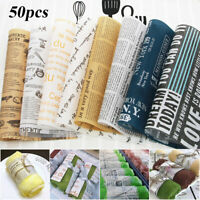 Baking Food Grade Waterproof Wax Paper Wrappers Bread Oil-paper Grease-proof