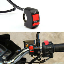 Motorcycle LED Light Switch Handlebar Mount Switch With ON/OFF Button Connector