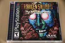 Broken Sword II (Sony PlayStation 1, 1999) case and manual only - no game