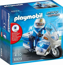 PLAYMOBIL Police Bike with LED Light - City 6923