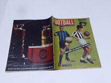 CALCIO RIVISTA FOOTBALL N° 23 DEL 1961 JUVENTUS INTER BOLCHI SIVORI