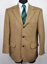 DANIEL HECHTER Textured Cashmere Wool Blazer UK 38 Eur 48 Gr Jacket Suit Sand