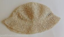 Estate Elegantly Yours Miriam Lefcourt Hand Crafted in Italy Knitted Linen Hat 7