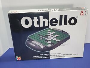 Brand New Sealed OTHELLO Strategy Classic 2-Player Board Game Mattel 2005 B3165