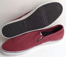 Emerica Provost Burgundy Slip-On Tennis Shoes