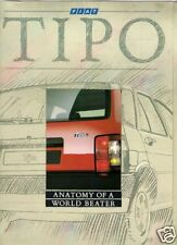 Fiat Tipo Mid 1988 UK Market Launch Sales Brochure 1.4 1.6 1.7D DGT SX 1.9 Tds