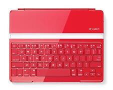 Logitech Ultrathin Tastatur Cover für iPad 2 iPad 3 iPad 4 ROT QWERTZ Deutsch