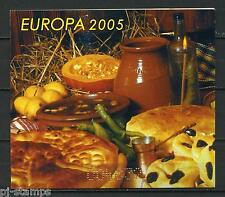 Europa CEPT 2005 Bulgarije boekje 4 cat waarde € 14