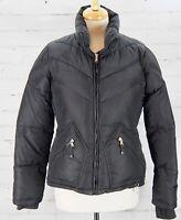 J CREW Down Jacket Winter Puffer Very Warm Insulated Coat Women's Medium Black